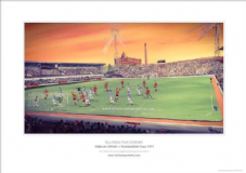 Oldham Athletic 'Boundary Park' A3 FRAMED  Print